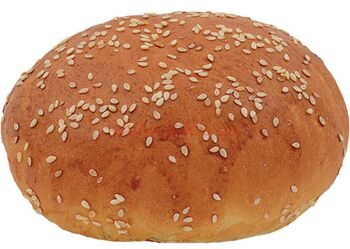 """Булочка """"Для гамбургера 60 L"""" з кунжутом"""
